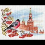 "Канва с рисунком ""Московская зима"" ""Матренин Посад"""