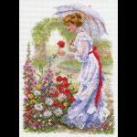 "Канва с рисунком ""В цветущем саду"" ""Матренин Посад"""
