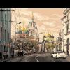 """Канва с рисунком """"Москва ул. Варварка"""" """"Матренин Посад"""""""