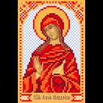 """Рисунок на шелке для вышивания бисером """"Святая Мария"""" """"Матренин Посад"""""""
