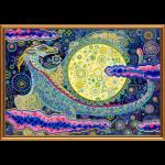 """Ткань с рисунком для вышивания бисером """"Небесный дракон"""" """"Нова Слобода"""""""