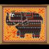 """Ткань с рисунком для вышивания бисером """"Слонёнок"""" """"Нова Слобода"""""""
