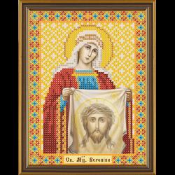 """Ткань с рисунком для вышивания бисером """"Св. Мц. Вероника"""" """"Нова Слобода"""""""