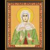 """Ткань с рисунком для вышивания бисером """"Св. Прав. Иоанна (Яна, Жанна) Мироносица"""" """"Нова Слобода"""""""