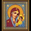 """Ткань с рисунком для вышивания бисером """"Богородица Казанская"""" """"Нова Слобода"""""""