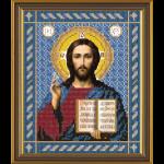 """Ткань с рисунком для вышивания бисером """"Христос Спаситель"""" """"Нова Слобода"""""""
