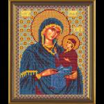 """Ткань с рисунком для вышивания бисером """"Св. Анна с Младенцем Марией"""" """"Нова Слобода"""""""
