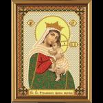 """Набор для вышивания бисером """"Богородица «Отчаянных единая надежда»"""" """"Нова Слобода"""""""