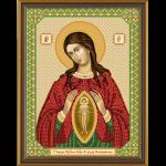 """Набор для вышивания бисером """"Богородица «Помощница в родах»"""" """"Нова Слобода"""""""