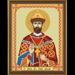 """Набор для вышивания бисером """"Св Мч Царь Николай"""" """"Нова Слобода"""""""