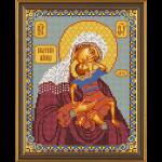 """Набор для вышивания бисером """"Богородица «Взыграние младенца»"""" """"Нова Слобода"""""""