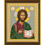 """Набор для вышивания бисером """"Христос Спаситель"""" """"Нова Слобода"""""""