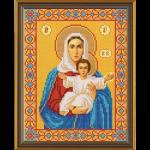 """Набор для вышивания бисером """"Богородица Леушинская"""" """"Нова Слобода"""""""