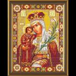 """Набор для вышивания бисером """"Богородица Неувядаемый Цвет"""" """"Нова Слобода"""""""