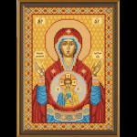 """Набор для вышивания бисером """"Богородица «Знамение»"""" """"Нова Слобода"""""""