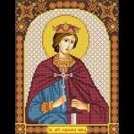 """Набор для вышивания бисером """"Св. Мч. Эдуард (Эдвард) Король Английский"""" """"Нова Слобода"""""""