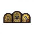 """Набор для вышивания бисером """"Православный триптих. Царь царей"""" """"Нова Слобода"""""""