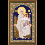 """Набор для вышивания бисером """"Богородица на престоле"""" """"Нова Слобода"""""""
