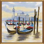"""Набор для вышивания """"Пристань в Венеции"""" """"Нова Слобода"""""""