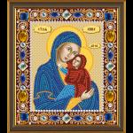 """Набор для вышивания бисером """"Св. Анна с Младенцем Марией"""" """"Нова Слобода"""""""