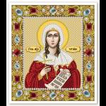 """Набор для вышивания бисером """"Св. Мц. Татьана (Татиана) Римская"""" """"Нова Слобода"""""""