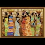 """Набор для вышивания бисером """"Африканские красавицы"""" """"Нова Слобода"""""""