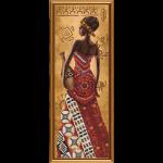 """Набор для вышивания бисером """"Африканка с кувшином"""" """"Нова Слобода"""""""
