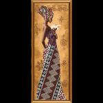 """Набор для вышивания бисером """"Африканка с лилией"""" """"Нова Слобода"""""""