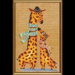 """Набор для вышивания """"Жирафики"""" """"Нова Слобода"""""""