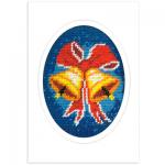 """Набор для вышивания OR1585 Открытка """"Колокольчики"""" """"Orchidea"""""""