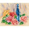 "Канва-страмин с рисунком OR2527 ""Розы"" 30х40см ""Orchidea"""