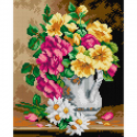 "Канва-страмин с рисунком OR2760 ""Яркий букет"" 24х30см ""Orchidea"""
