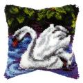 """Набор для вышивания Подушка ковровая OR4022 """"Лебедь"""" 40х40см """"Orchidea"""""""