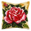 """Набор для вышивания Подушка ковровая OR4085 """"Розовая роза"""" 40х40см """"Orchidea"""""""
