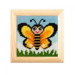 """Набор для вышивания с рамкой OR6707 """"Бабочка"""" """"Orchidea"""""""