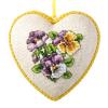 """Набор для вышивания с пластиковой формой OR7331 """"Анютины глазки"""" """"Orchidea"""""""