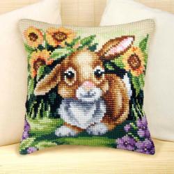 """Набор для вышивания Подушка OR9026 """"Кролик"""" 40х40см """"Orchidea"""""""