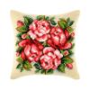 """Набор для вышивания Подушка OR9161 """"Венок из роз"""" 40х40см """"Orchidea"""""""