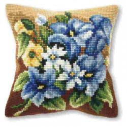 """Набор для вышивания Подушка OR9194 """"Голубые лилии"""" 40х40см """"Orchidea"""""""
