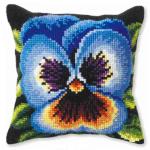 """Набор для вышивания Подушка OR9245 """"Синяя виола"""" 40х40см """"Orchidea"""""""