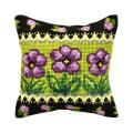 """Набор для вышивания Подушка OR9302 """"Сиреневые цветочки"""" 40х40см """"Orchidea"""""""