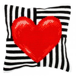 """Набор для вышивания Подушка 40х40см OR9314 """"Сердце"""" """"Orchidea"""""""