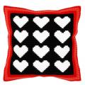 """Набор для вышивания Подушка 40х40см OR9315 """"Сердца"""" """"Orchidea"""""""