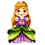 """Набор для вышивания Подушка фигурная OR9333 """"Принцесса"""" 32,5х47,5см """"Orchidea"""""""