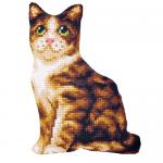 """Набор для вышивания Подушка фигурная OR9344 """"Кошка"""" 37х47см """"Orchidea"""""""