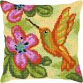 """Набор для вышивания Подушка OR9368 """"Колибри"""" 40х40см """"Orchidea"""""""