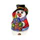 """Набор для вышивания Подушка фигурная OR9384 """"Снеговик с подарками"""" 29,5х47см """"Orchidea"""""""