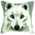 """Набор для вышивания Подушка OR9530 """"Белый пёс"""" 40х40см """"Orchidea"""""""