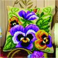 """Набор для вышивания Подушка OR9536 """"Анютины глазки"""" 40х40см """"Orchidea"""""""