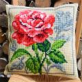 """Набор для вышивания Подушка OR9543 """"Великолепная роза"""" 40х40см """"Orchidea"""""""